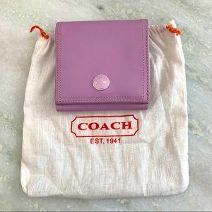 Adorable Coach Lavender Wallet